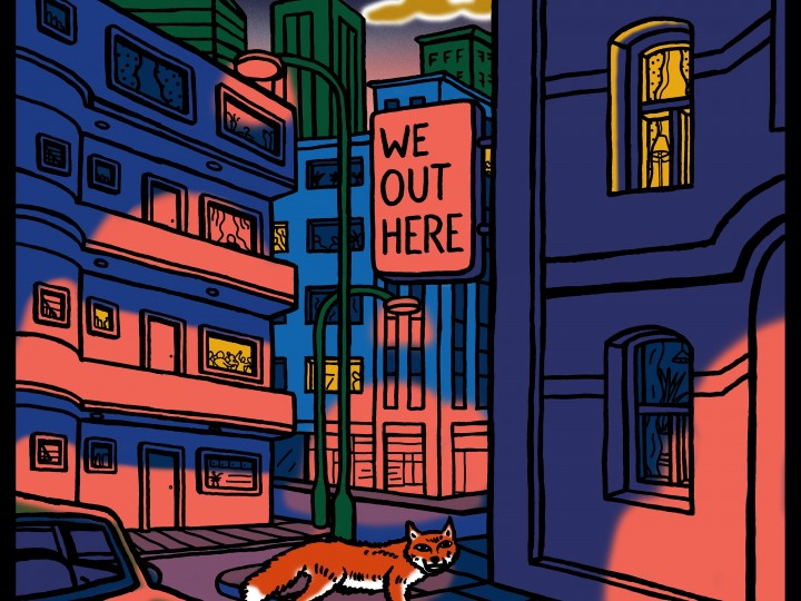 Various Artists - We Out Here - Artwork
